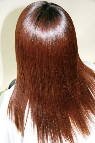 ハニエルの特徴<br>ハニエルを施術する事で実感!!◆毛先がおさまり自然な艶◆軽くなってボリュームがプラス◆クセが直り広がりが収まる◆パーマ、カラーが長持ちし色鮮やか◆ヘッドスパ効果でハリ・コシ・しなやかに!!