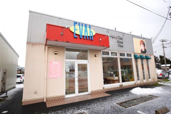 マックスバリュー亀田店(敷地内)<br>鵜ノ子インターチェンジより車で5分、広々駐車場完備。